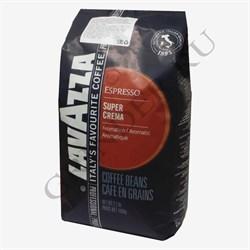 Lavazza Super Crema кофе в зёрнах 1 кг - фото 4319
