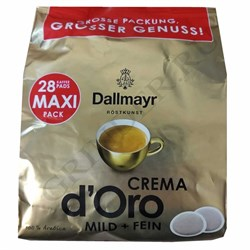Dallmayr Crema d'Oro Mild and Fein 28 чалд к Senseo - фото 4386