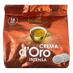 Dallmayr Crema D'Oro Intensa 16 чалд к Senseo, пакет - фото 4438