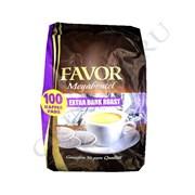 Favor Extra Dark Roast чалды для Senseo 100 порций